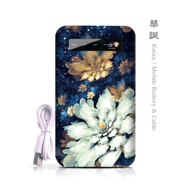 華誕 - 和風 モバイルバッテリー