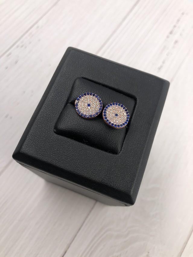 eye collection ラウンド型ピアス 大