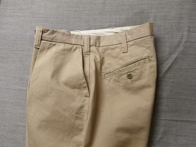 da intuck cotton pants / grege