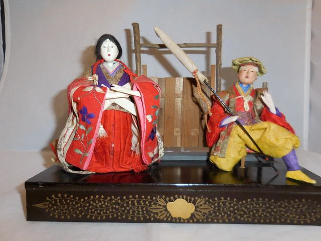 秀月 御節句飾り Kocyou Hina dolls