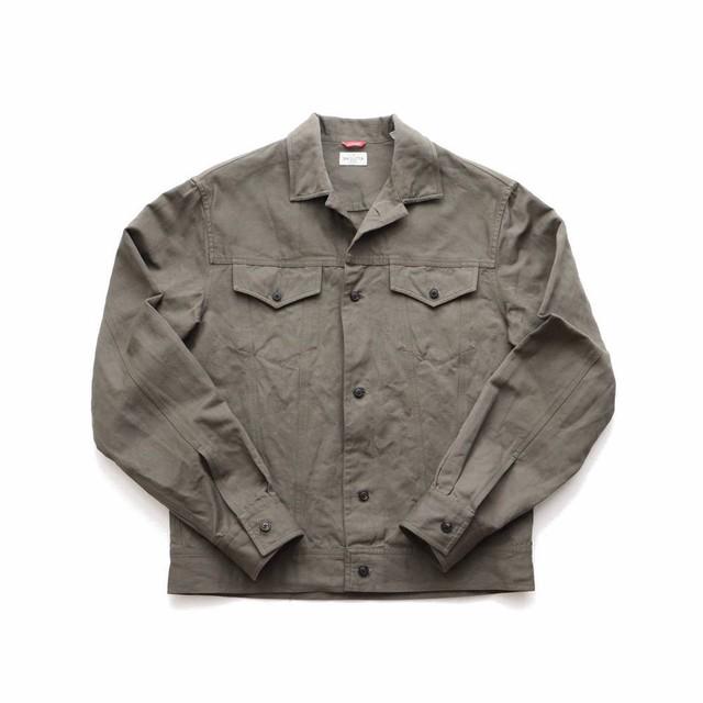 BAGUTTA /バグッタ コットンリネン 3rdトラッカーシャツジャケット