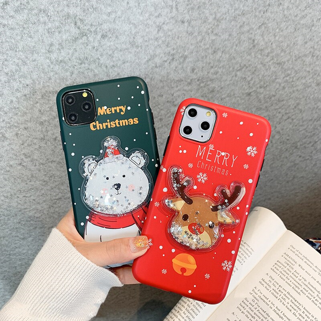 【オーダー商品】Christmas deer iphone case