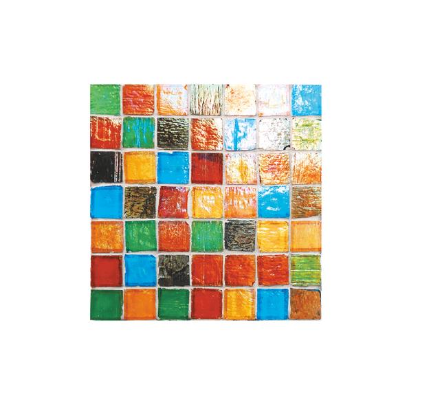 Staind Grass Mosaic【Mix h】ステンドグラスモザイク【ミックス h】