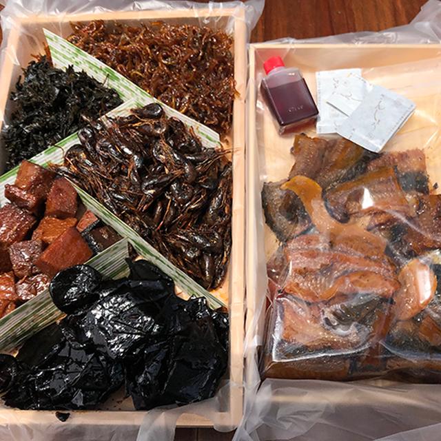 鰻大和煮詰め合わせ4種(鰻270g、各100g)