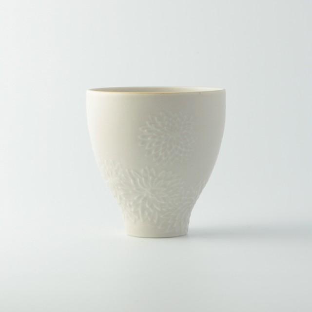 華カップ 白釉