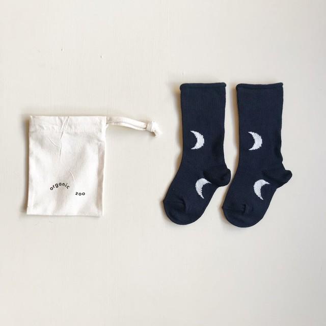 organic zoo/Midnight Socks Navy
