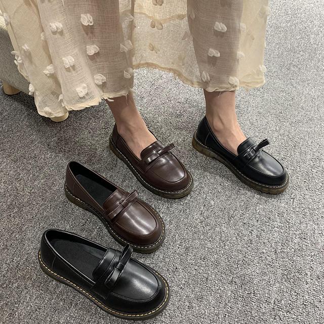 レディース革靴 カジュアルシューズ SHS341001