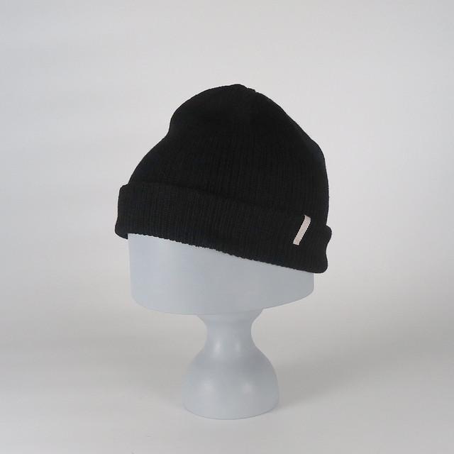 AW20-BD-7 Fine Wool Knit Cap - BRN