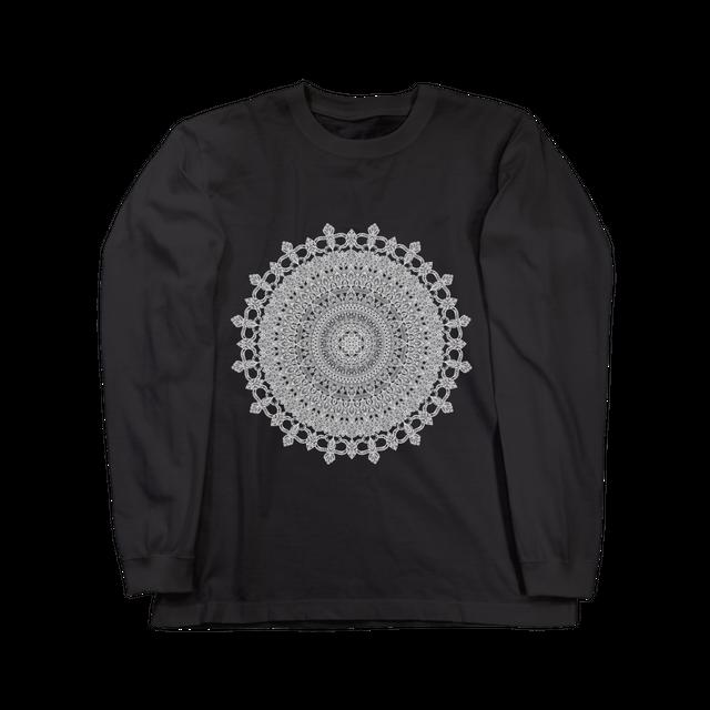 Mandala No.001 ロングスリーブ  ブラック