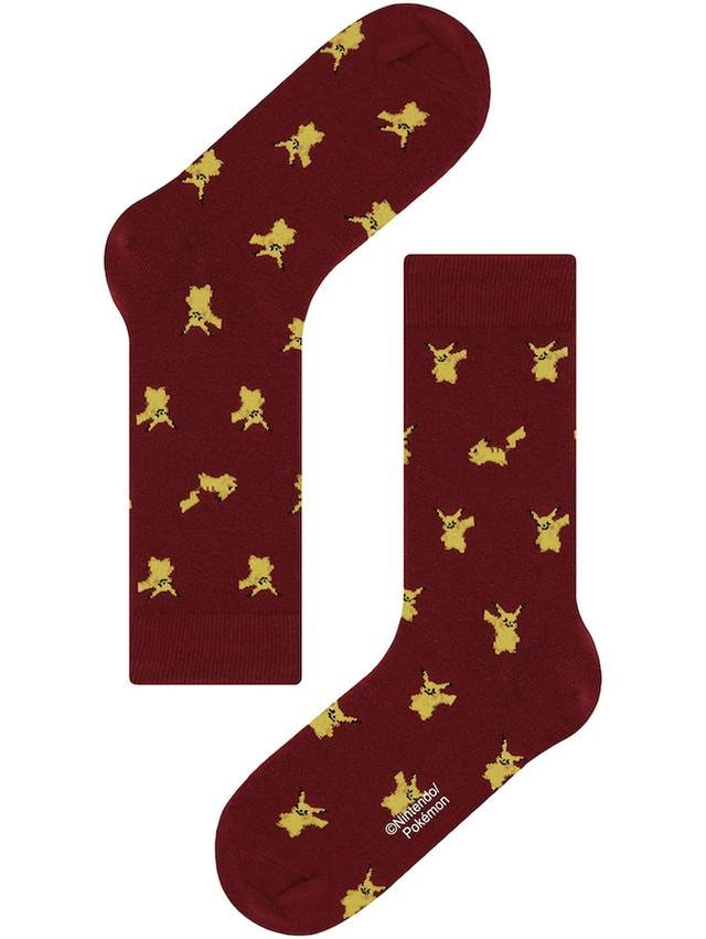【Pocket Monsters socksappeal】PIKACHU -RED【ポケットモンスター ソックスアピール】ピカチュウ -レッド