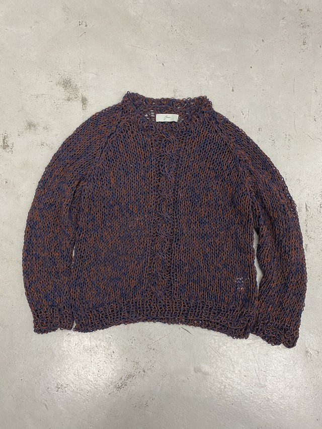 amachi. / Double Coil Knit (Navy)
