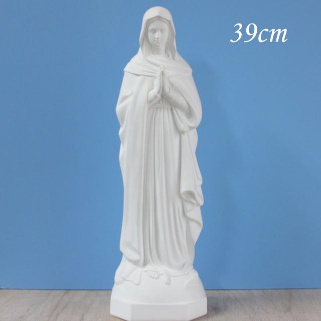 天の元后なる聖母像【39cm】室内用単色仕上げ