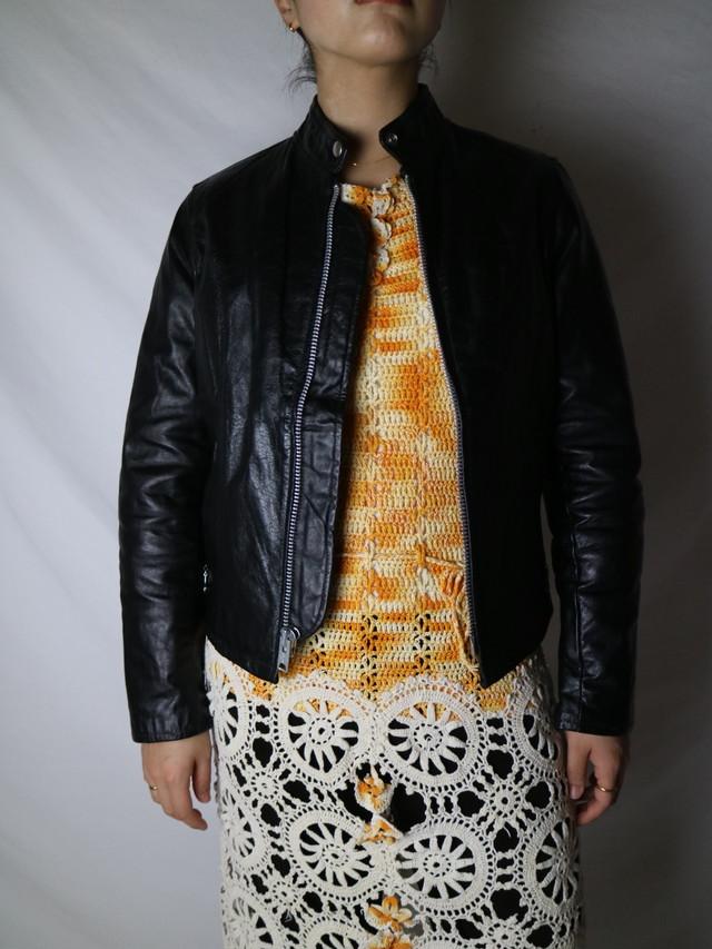 leather jacket 【0809】
