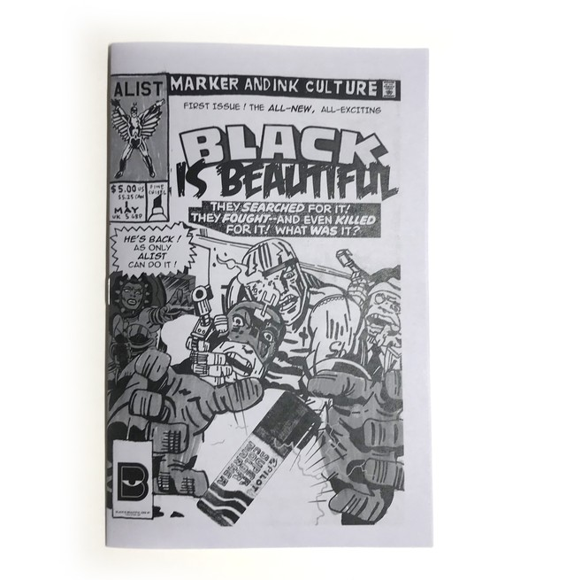 BLACK IS BEAUTIFUL ZINE ISSUE #1