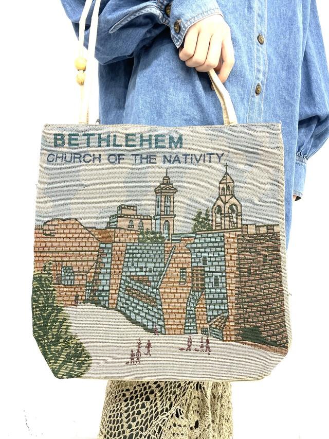 gobelin bethlehem design bag /3SSGD05-19