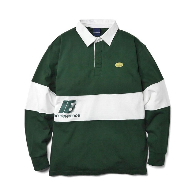 INTERBREED Rebellion Rugby Shirt GREEN