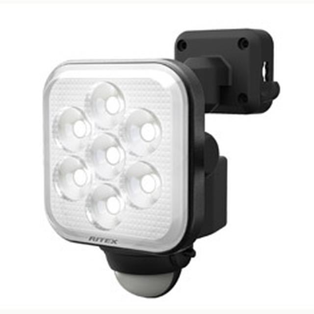 フリーアーム式LEDセンサーライト(8W LED×1灯) LED-AC1008