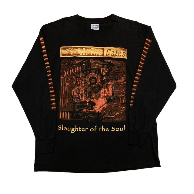 At The Gates Slaughter Of The Soul JUST DO IT LS TEE GILDAN XL