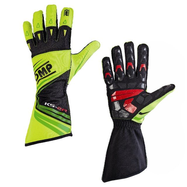 KK02747120  KS-2R Gloves (White/red/black )
