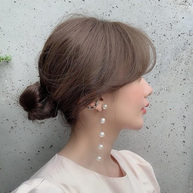 【予約】snow drop earring gold (9月下旬発送) 8/30 21:00~ 再販