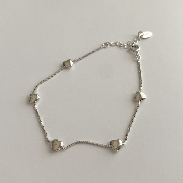 heart(silver925/bracelet)