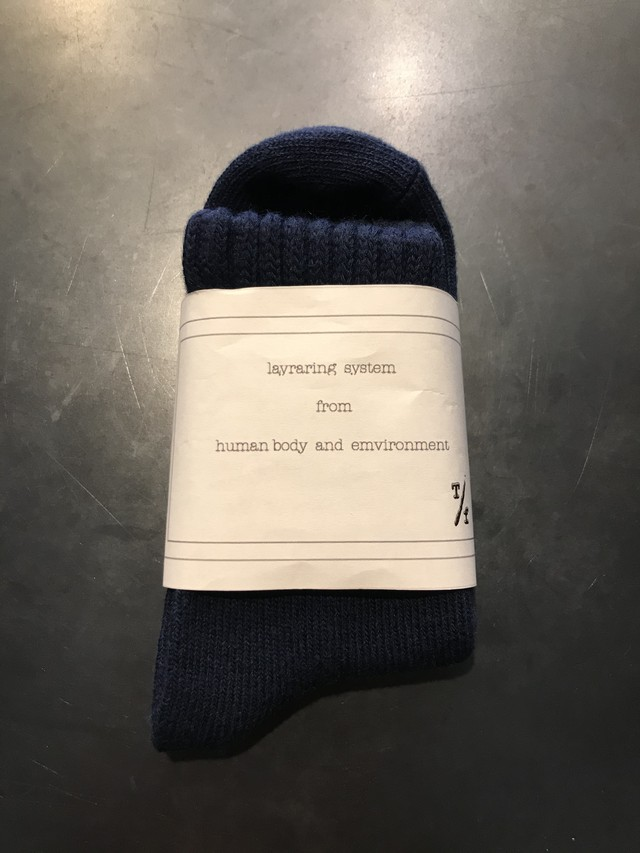 TrAnsference object dyed mid socks - dark blue