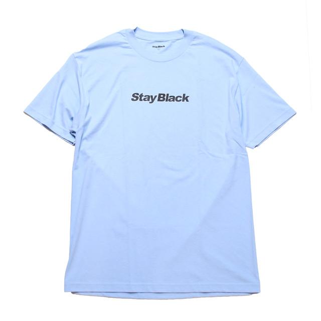 STAY BLACK ORIGINAL LOGO TEE UNC -POWDER BLUE