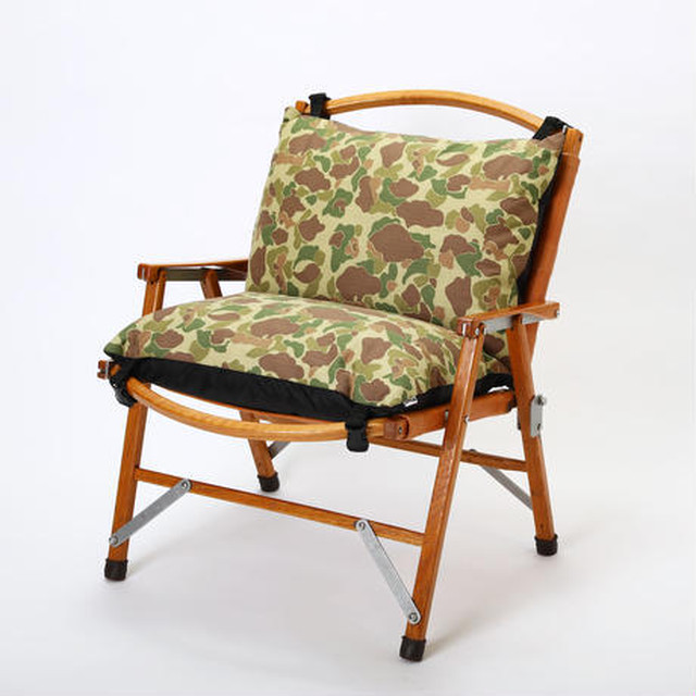 Tsunokawa farm  FOLDING CHAIR SOFA CUSHION(DUCK CAMO)
