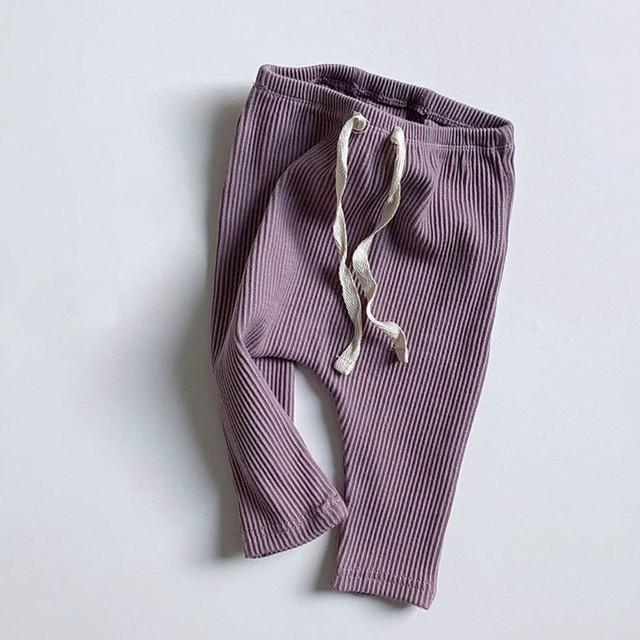 BABY rib leggings (レギンス/ラベンダー) Minirobe : MRBDPX0011623_111