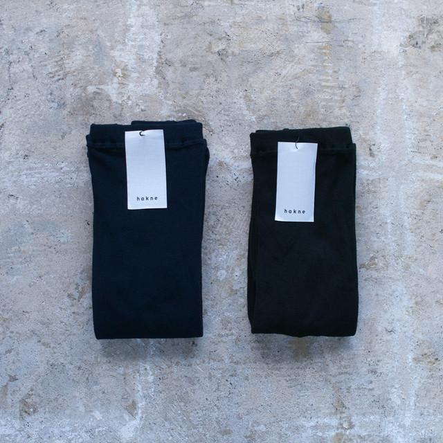 NISHIGUCHI KUTSUSHITA 西口靴下 hakune ハクネ コットンスムースタイツ Smooth Cotton Tights