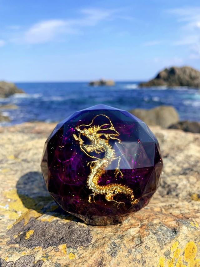 龍神オルゴナイト⑥紫~アセンションのサポートに~