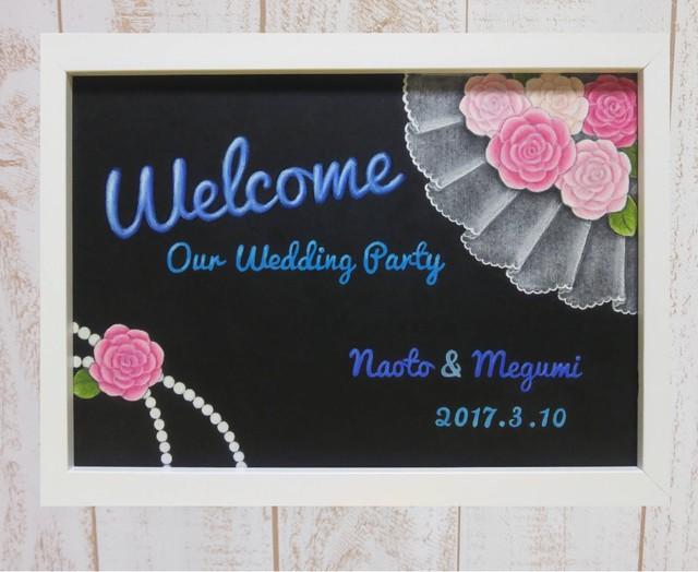 結婚式ウェルカムボード~卓上サイズ