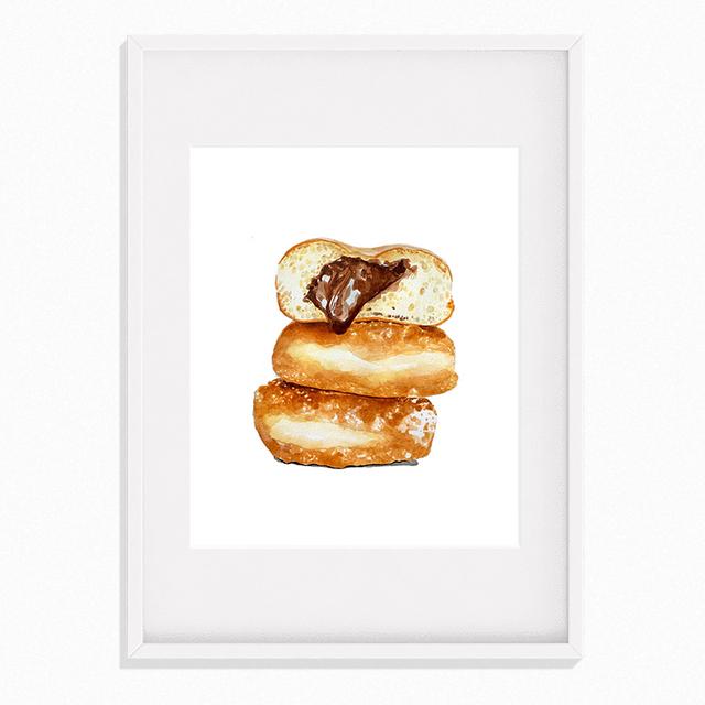 【送料無料対象】Chroniques de bouche - Les Donuts au Chocolat(フレーム付き)