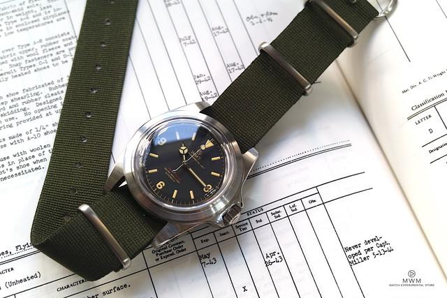 WMT WATCH  ROYAL MARINE1950 MKⅡ 369 (NH35) WMT196-04OD