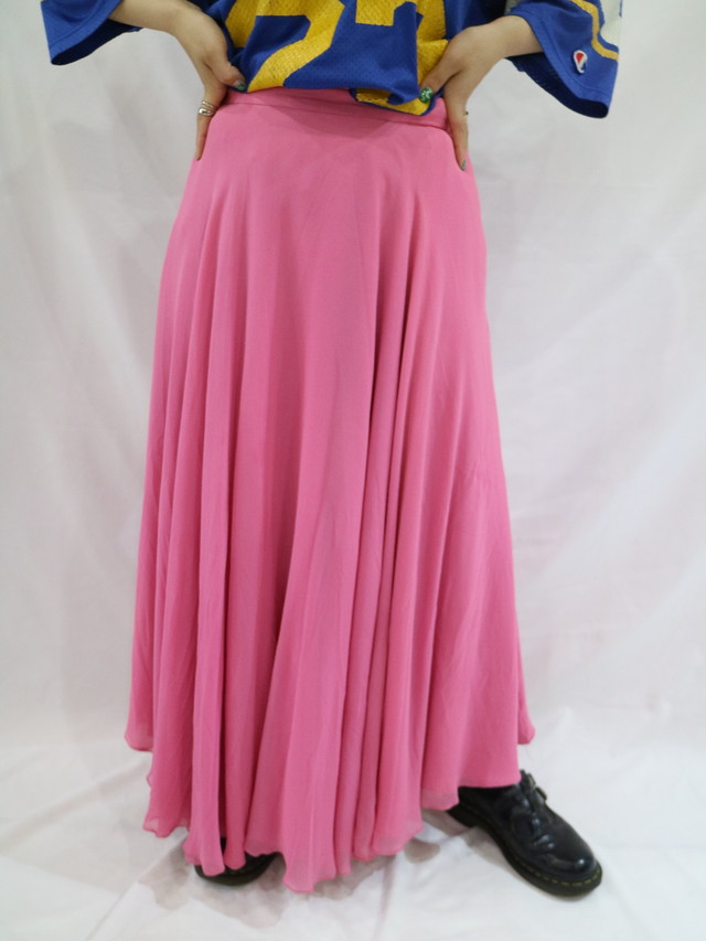 color flare skirt【1153】