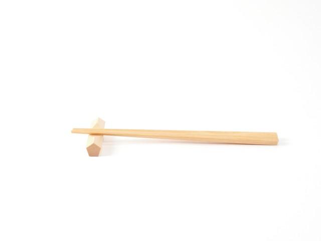 プラム工芸|斧折樺の五角箸置
