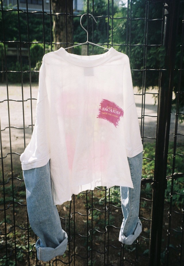 【Crudely Hommes】Remake Tee Tops