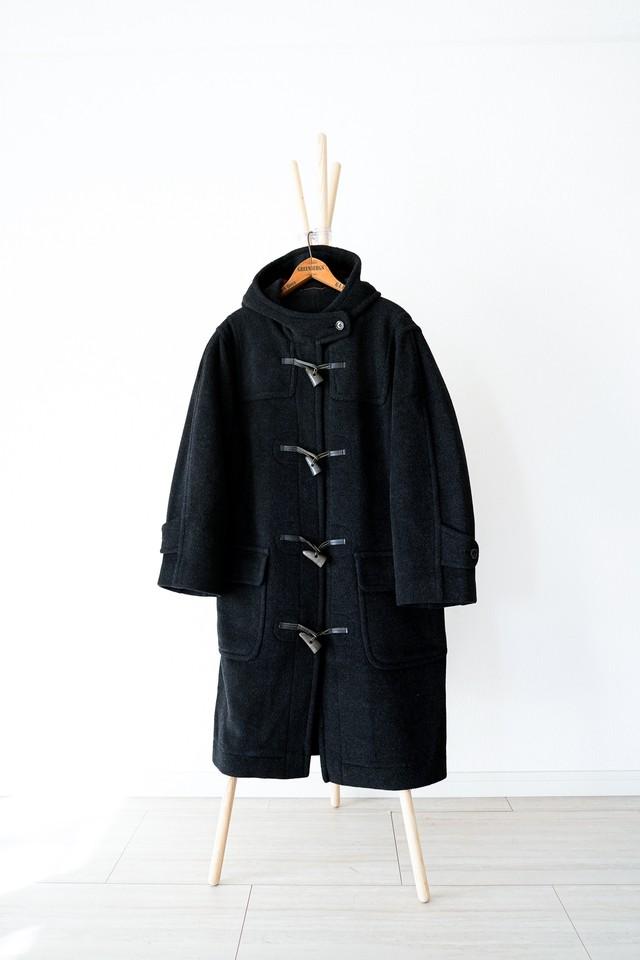 "【1980-90s】""Corbymore by Moorbrook"" Wool Duffle Coat / v369"
