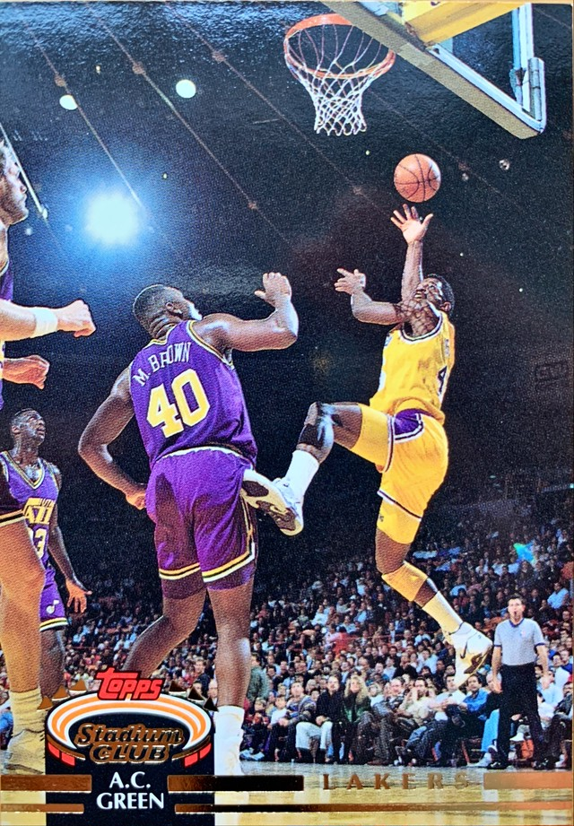 NBAカード 92-93TOPPS A.C.Green #172 LAKERS