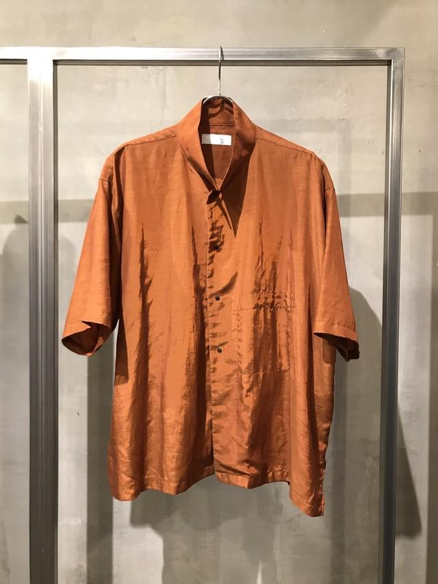 T/f T/f taffeta half sleeve shirt - brick