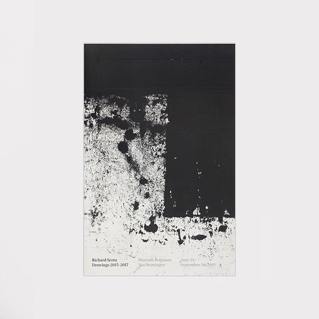 Richard Serra Drawings 2015–2017 Poster