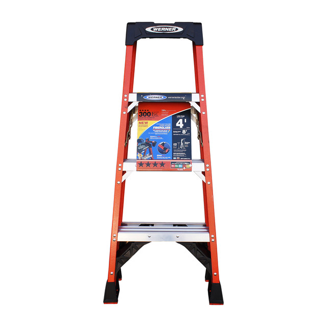 WERNER Ladder  300 lbs/ORANGE