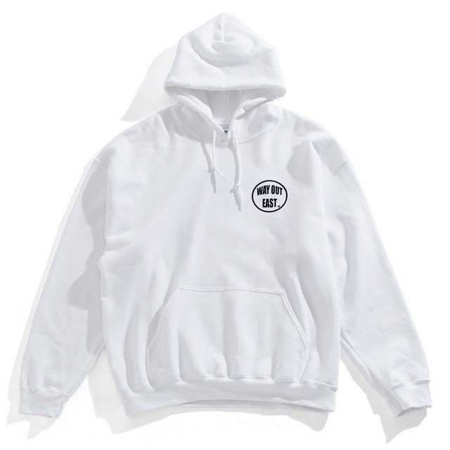 WAY OUT EAST / WAY OUT EAST HOODIE WHITE