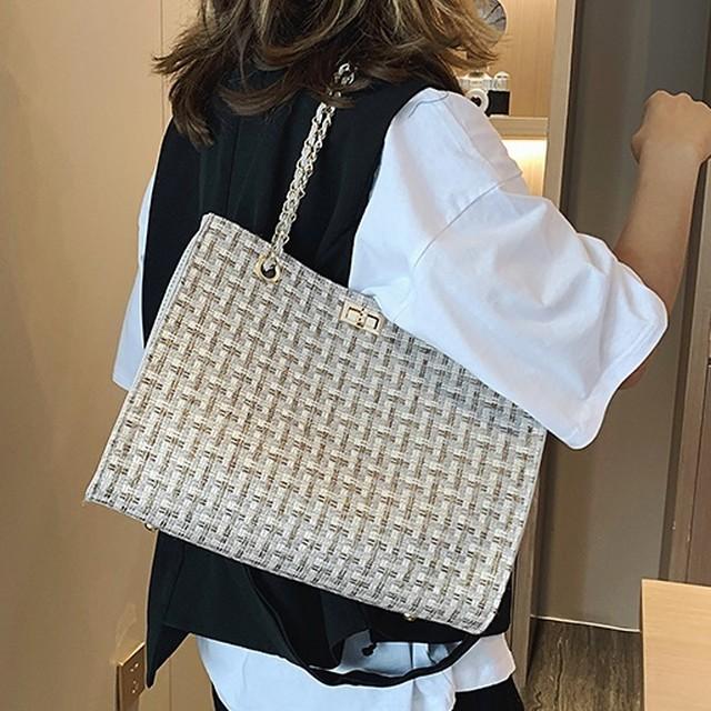 Braided Hand Shoulder Bag T577