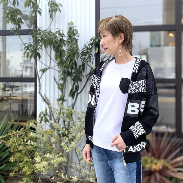 DOUBLE STANDARD CLOTHING  ESSENTIAL (ダブルスタンダードクロージング  エッセンシャル) AMOSSA×SUKERU ジップアップパーカー 2509090211