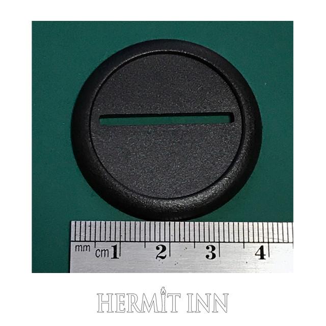 40ミリ プラ製カマボコ型フチあり丸ベース(3枚) - メイン画像