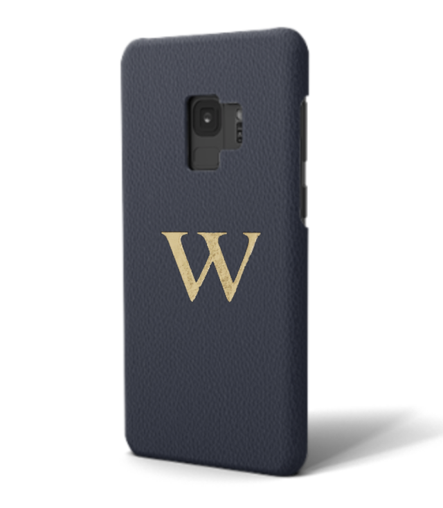 Galaxy Premium Smooth Leather Case (Midnight Blue)