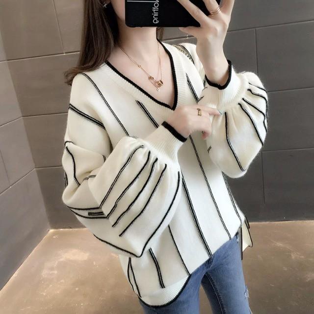 【tops】ゆったりシルエット大人っぽくセーター 24492736
