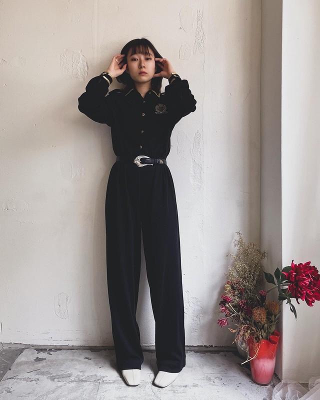 """""""ANDREA GAYLE"""" vintage marine jumpsuit"""