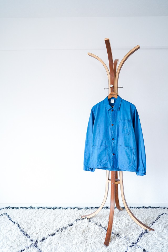 """【1950-60s】""""Macober"""" 4-Pockets French Work JKT / y3"""